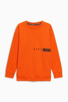 Don't Look Back Long Sleeve Top (3-16yrs)