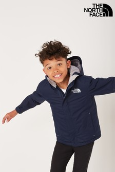 The North Face® Navy Youth Snow Quest Jacket