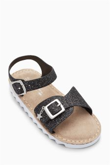 Glitter Sporty Sandals (Younger)