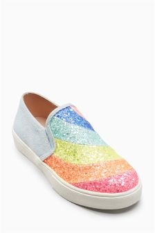 Glitter Skater Shoes (Older)