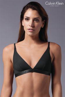 Calvin Klein Black/Grey Bralette