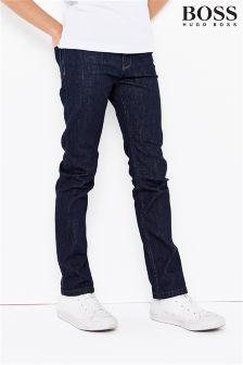 BOSS Dark Wash Slim Fit Jean