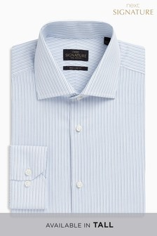 Signature Striped Regular Fit Shirt