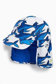 Shark Print Legionnaire's Hat (Younger)