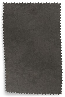 Monza Faux Leather Charcoal Fabric By The Roll