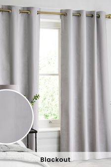 Cheap Price Ready Made Winter Thermal Blackout Eyelet Ring Top Curtains Home & Garden Home Décor 2 Free Tie Backs