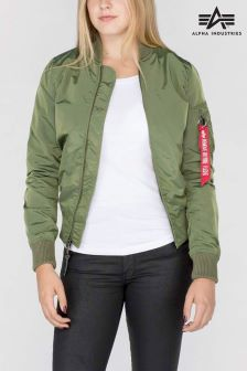 Alpha Industries Sage MA1 TT Womens Bomber Jacket