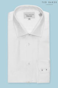 Ted Baker White Anook Floral Shirt