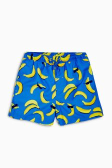 Banana Print Swim Shorts (3mths-16yrs)