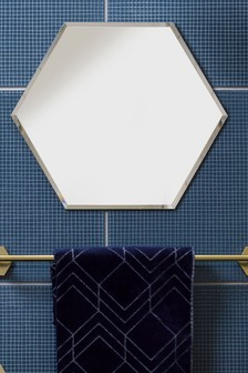 Hexagon Small Wall Mirror