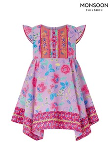 Monsoon Purple Baby Marissa Dress