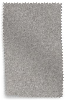Elise Wool Blend Grey Upholstery Fabric Sample