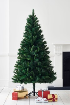 forest pine 6ft christmas tree - British Christmas Tree Decorations