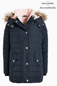 Abercrombie & Fitch Nylon Parka Jacket