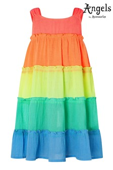 Angels by Accessorize Multi Colourblock Dress