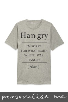 Personalised Hangry T-Shirt