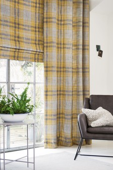 Astley Check Roman Blind