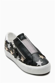 Star Elastic Front Trainers (Older)