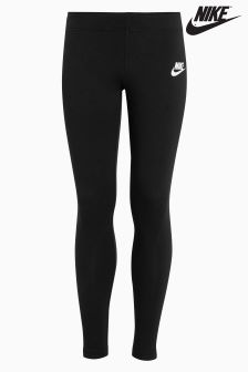 Nike Black/White Club Legging