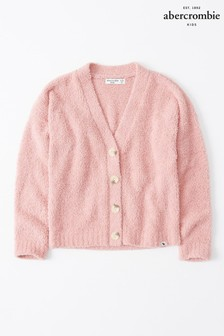 Abercrombie & Fitch Pink Cardigan