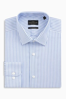 Stripe Signature Non-Iron Shirt