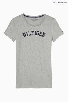 Tommy Hilfiger Grey Print T-Shirt