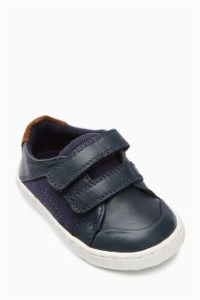 First Walker Double Strap Shoes (Younger)