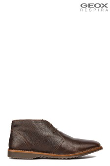 Geox Men's Zal Brown Shoe