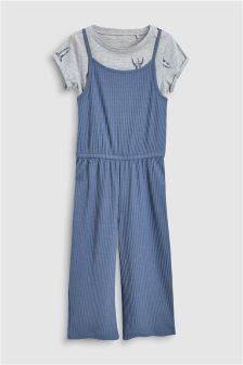 Jumpsuit And T-Shirt Set (3-16yrs)