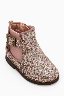 Glitter Chelsea Boots (Younger)