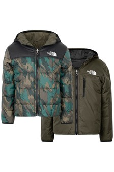 Boys Camo Reversible Perrito Jacket