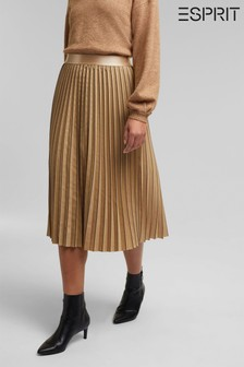 Esprit Natural Midi Skirt