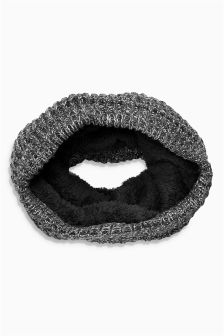 Twist Knit Tube Snood