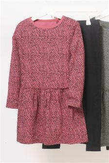 Платье и леггинсы (3-16 лет)