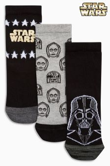 Star Wars™ Three Pack Socks (Older)