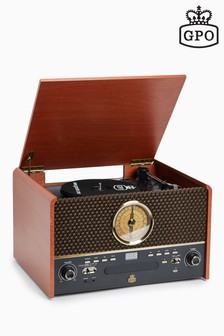 GPO Chesterton Record, CD, Radio And Cassette Player
