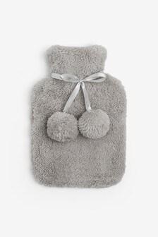 Super Soft Fleece Hot Water Bottle