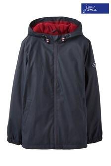 Joules Blue Portwell Lightweight Waterproof Jacket