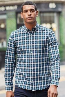Long Sleeve Buffalo Check Shirt