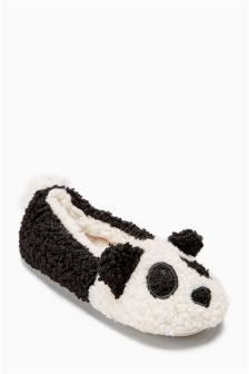 Panda Ballet Slippers (Older)