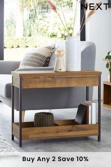 Bronx Storage Sofa Side Table