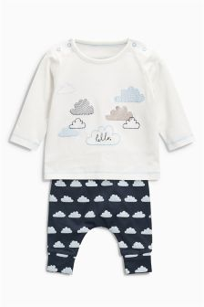 Cloud Two Piece Set (0mths-2yrs)