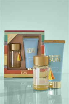 Summer Sun 100ml Eau De Parfum Gift Set
