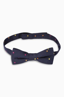 Muliticoloured Spot Bow Tie (1-16yrs)
