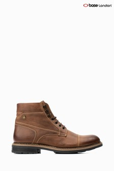 Base London® Tan Winston Lace-Up Boots