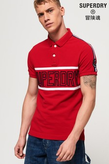 Superdry Retro Sports Appliqué Polo Shirt