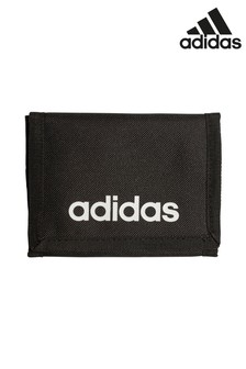adidas Black Logo Wallet