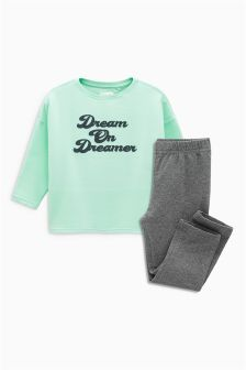 Fleece Top Lounge Set (3-16yrs)