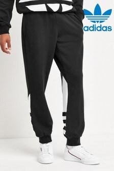 adidas Originals Black Big Trefoil Joggers