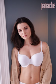 Panache White Non Wired Moulded T-Shirt Bra